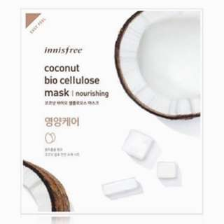 Nourishing Coconut Bio Cellulose Mask