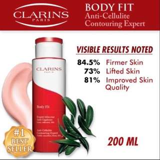 🚚 Clarins Body fit Anti Cellulite Contouring Expert 200ml