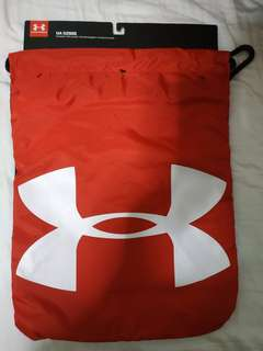 Under Armour Ozsee Sackpack Red Drawstring Bag