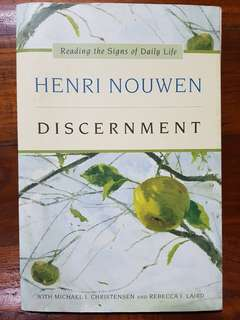 Christian book 《Discernment》 by Henri Nouwen