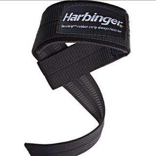🚚 Big Grip Padded Lifting Straps (1 pair) - Harbinger