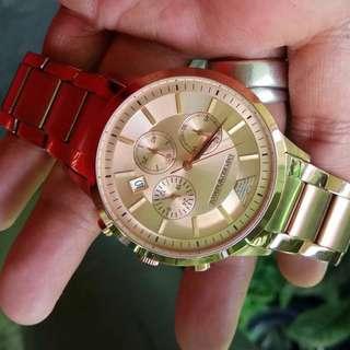"Emporio Armani Watch ""Batangan"""
