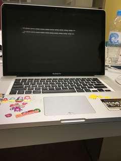 MacBook Pro 15 2012 零件機