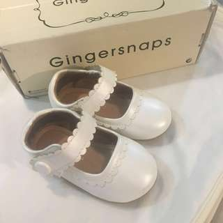 Gingersnaps white shoes