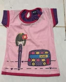 2pcs Baby shirt
