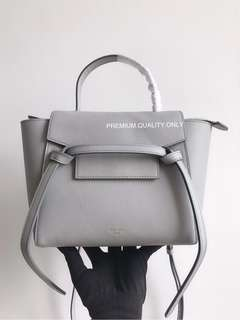 Celine Nano Belt Bag- grey