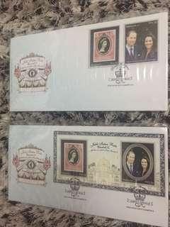 Stamp Jubli Intan Ratu Elizabeth year 2012