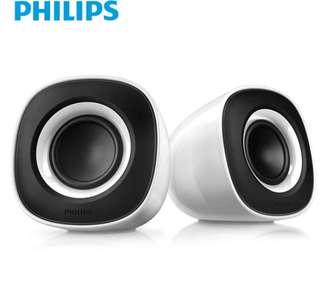電腦喇叭speaker philips