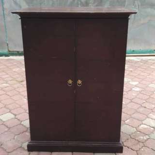 Antique Solid Wood Cabinet 90 x 59 x 121 cm * L35 C