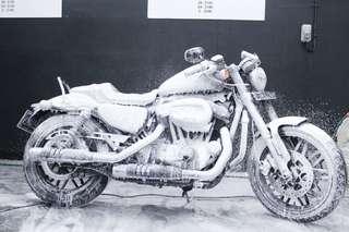 Motorbike Wash & Detailing Services