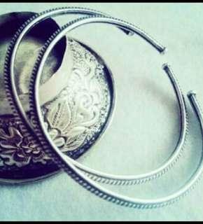 925純銀手環ㄧ對