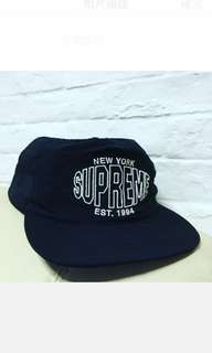 Supreme 5-panel cap black