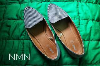 Rubi Pointed Stripe Shoes