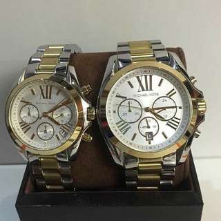Mk couple' watch