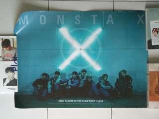 Monsta X The Clan Pt1 Poster