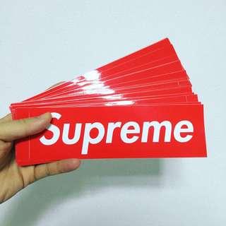 Supreme sticker each