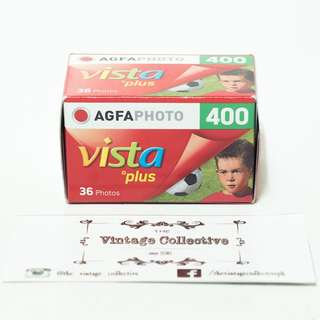Agfa Vista Plus 400 35mm film (36 shots)