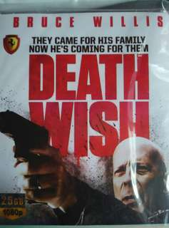 Death wish Blu ray