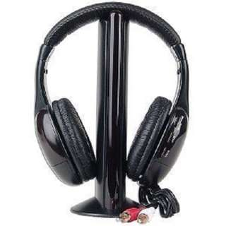 595.N MARKET 5-in-1 Hi-Fi S-XBS Wireless Headphones with FM Radio
