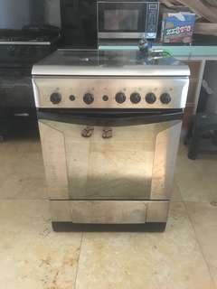 RUSH Indesit gas stove and oven