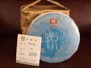 聽雨樓:普洱生茶:2014年 大益悅品(300克)