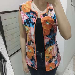 Flowery Vintage (Vest/ Outer)