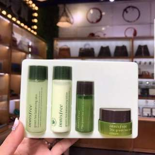 [NEW] INNISFREE GREEN TEA SPECIAL KIT 4 ITEMS