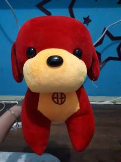 Red doggie for kids