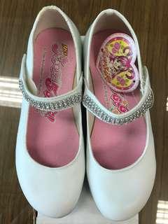 🚚 白色女童皮鞋