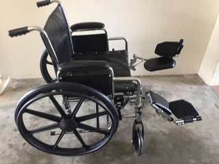 Quite new condition wheelchair