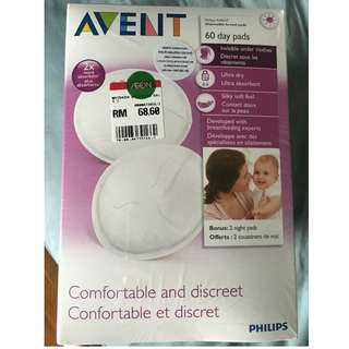 Avent Breast Day Pads 60 x 2 ‼️NEW‼️