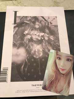TAEYEON First Mini Album
