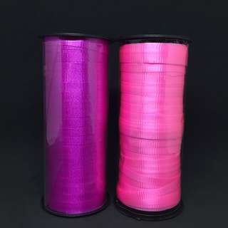 Balloon Ribbon : Pink / Purple