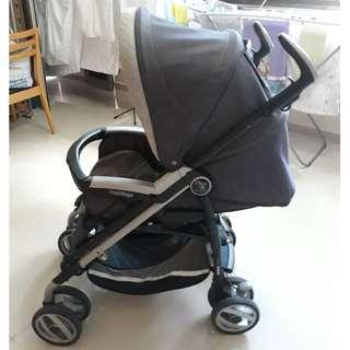 Peg Perego - Pliko P3 Compact Stroller (Denim)