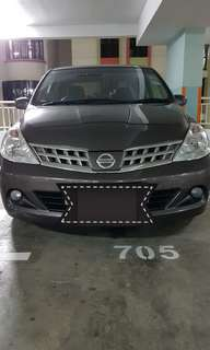 PHV for Rent Weekly $300 : Nissan Latio 1.5A