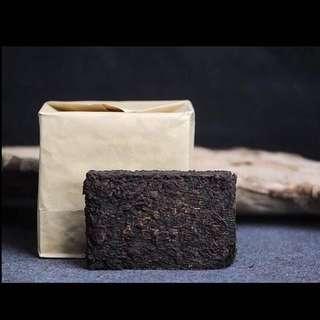 聽雨樓:普洱熟茶:90年代 雲南普洱茶老茶磚