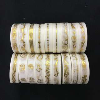Gold Washi Tape