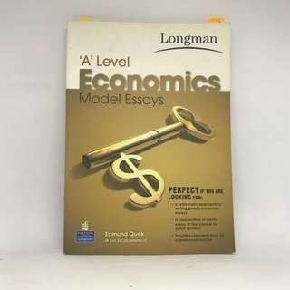 A Level H1 H2 Economics Model Essay Book | Econs