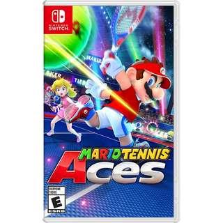 (Brand New) Nintendo Switch Mario Tennis Aces
