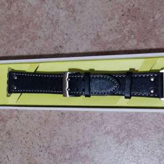 Apple Watch leather band 全新皮革錶帶