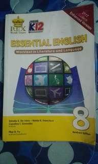 Grade 8 K12 English