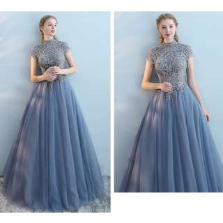 Pre order blue pink wedding bridal prom dress gown  RBP0766