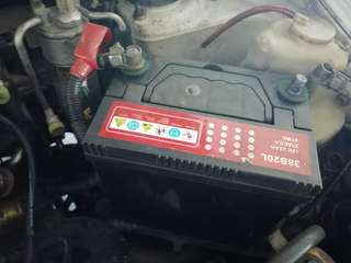Car battery (kering)