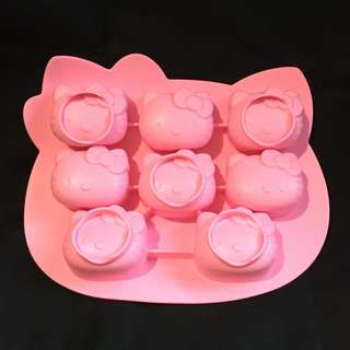 Hello Kitty Silicone Chocolate Mould