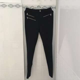 REPRICED! Zara Trafaluc Zipper Jegging