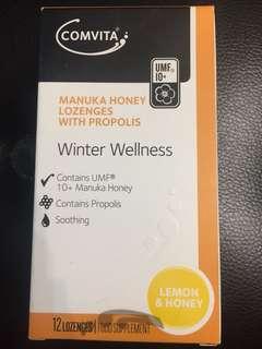 Comvita Manuka 蜂蜜喉糖兩盒
