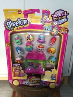 Shopkins Season 8 World Vacation Asia 12 Pack of Shopkins