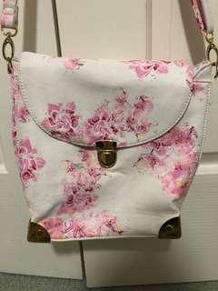 Sabo Skirt Pink Floral Bag