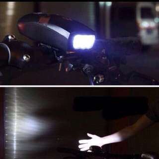 Bicycle bell light