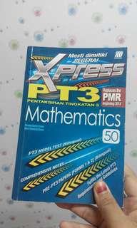 Buku ulangkaji PT3 Sejarah & Math